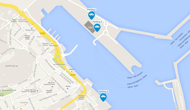 Parking Baleària Port