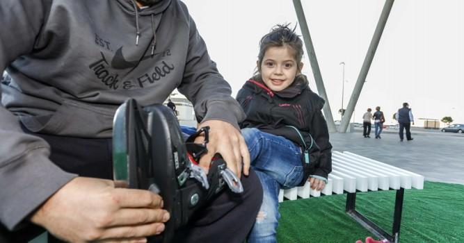 Els nens, protagonistes del Nadal a Baleària Port