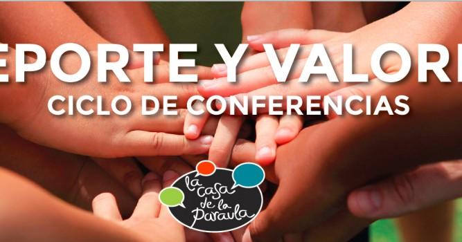 Conferencia sobre la importancia de las familias en la transmisión de los valores deportivos