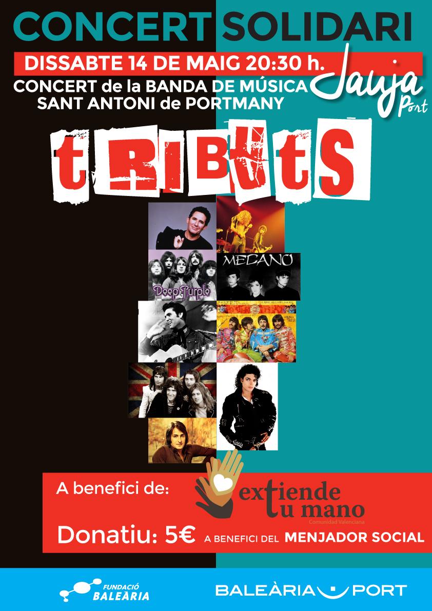 La Fundació Baleària organiza un concierto solidario