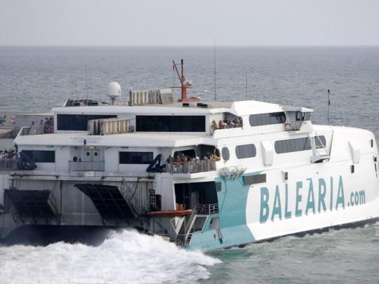 (Español) Baleària inicia mañana la línea de alta velocidad Dénia-Sant Antoni
