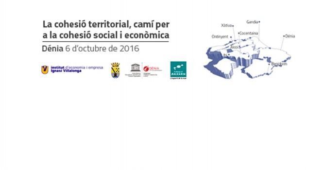 La Fundació, el IIVEE y el Aj. de Dénia organizan una jornada sobre cohesión territorial, económica y social