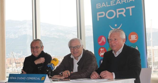 Baleària Port y ACE Dénia firman un acuerdo para ofrecer parking gratuito