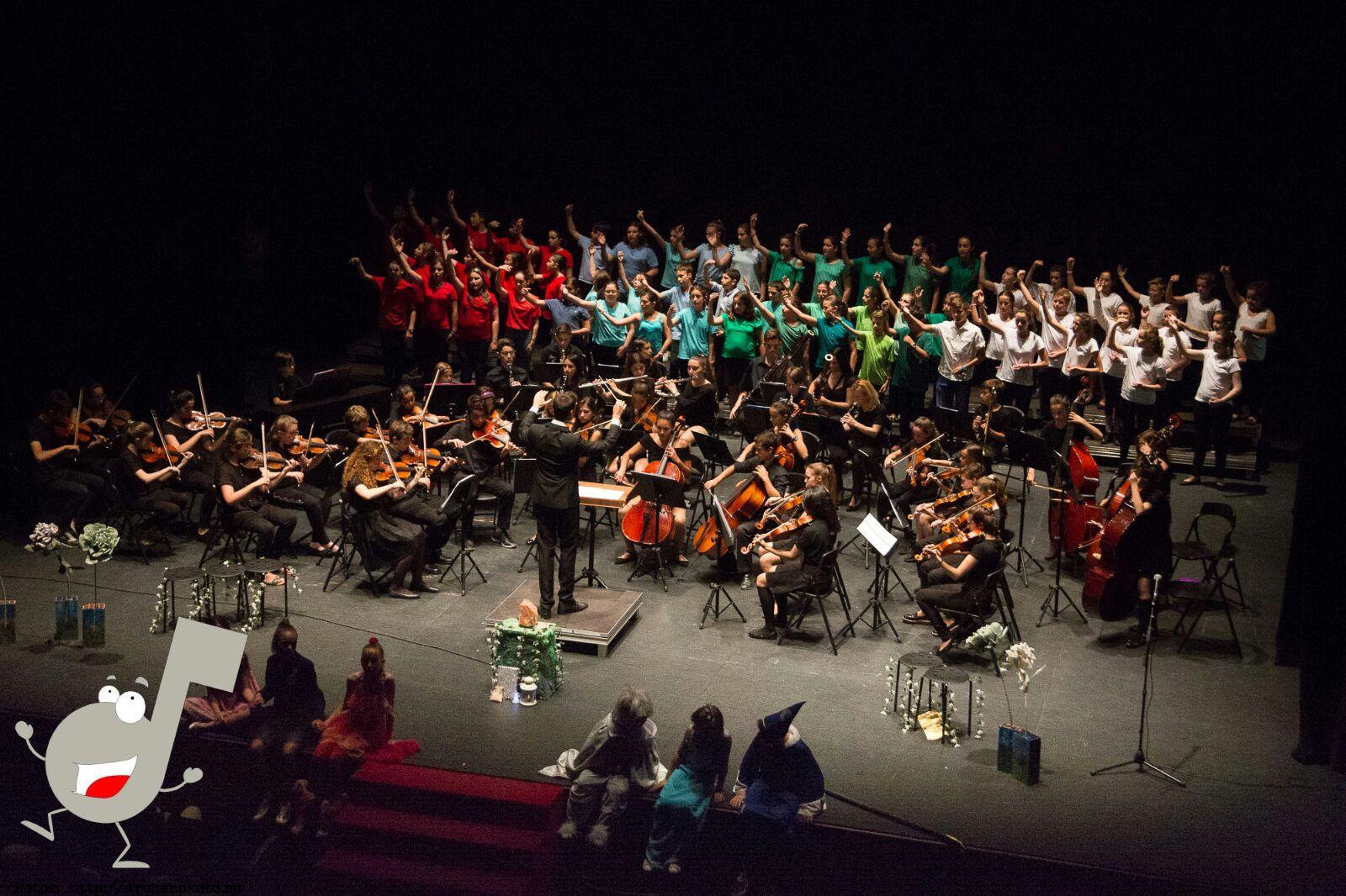 Concierto de Navidad de la Orquesta Sinfónica Infantil Scordae y el Circ La Llum
