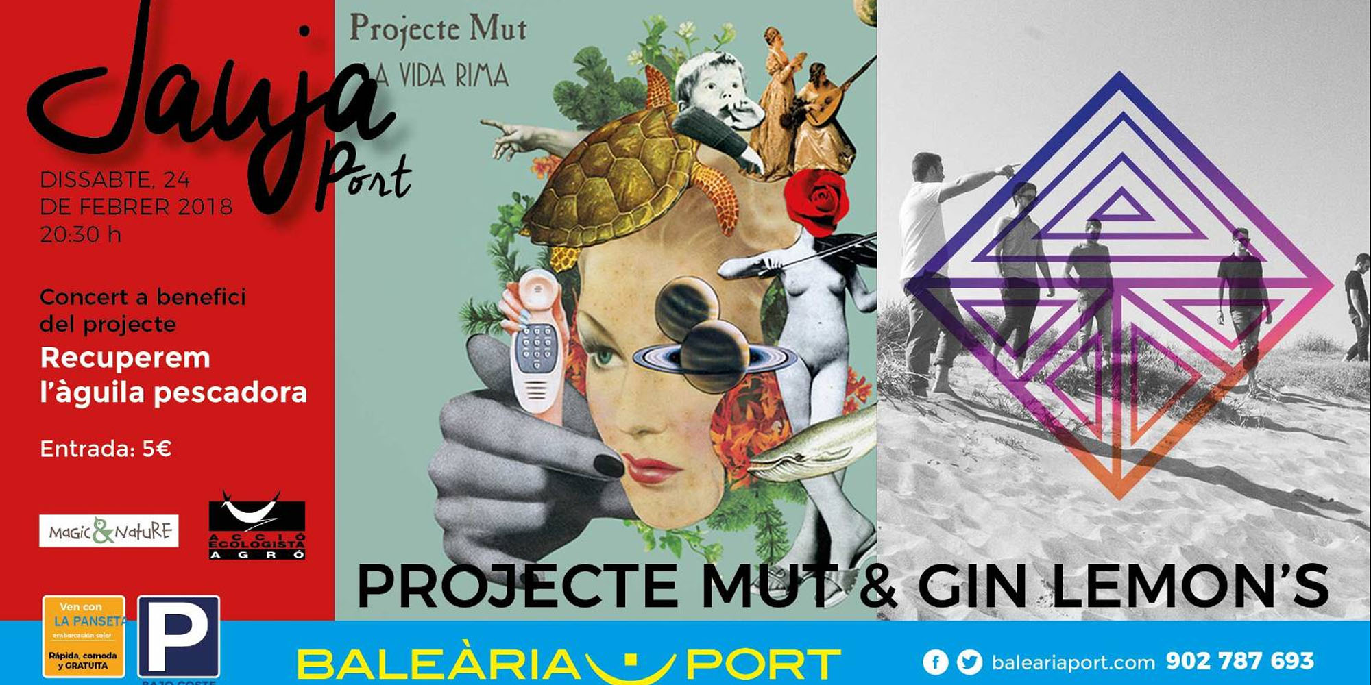 Concierto: Projecte Mut & Gin Lemon's