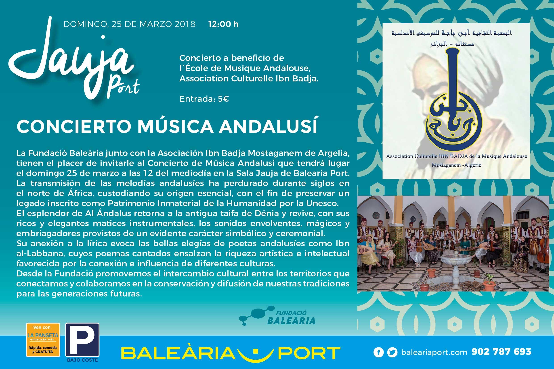 Concierto Música Andalusí