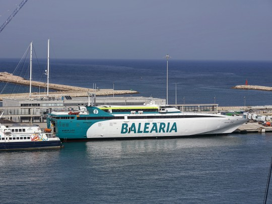 Baleària reprèn la línia directa d'alta velocitat entre Dénia i Formentera
