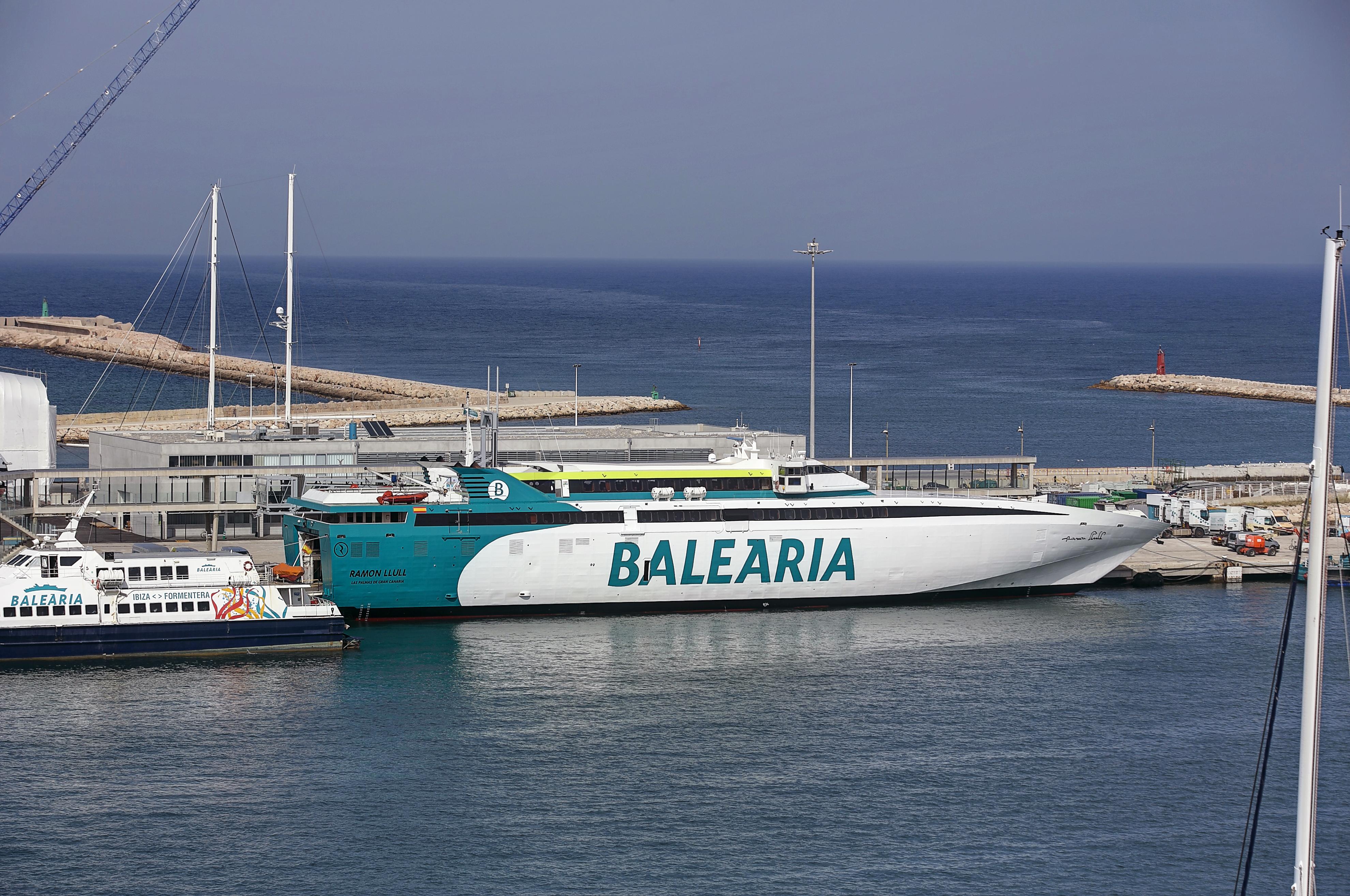 (Español) Baleària retoma la línea directa de alta velocidad entre Dénia y Formentera