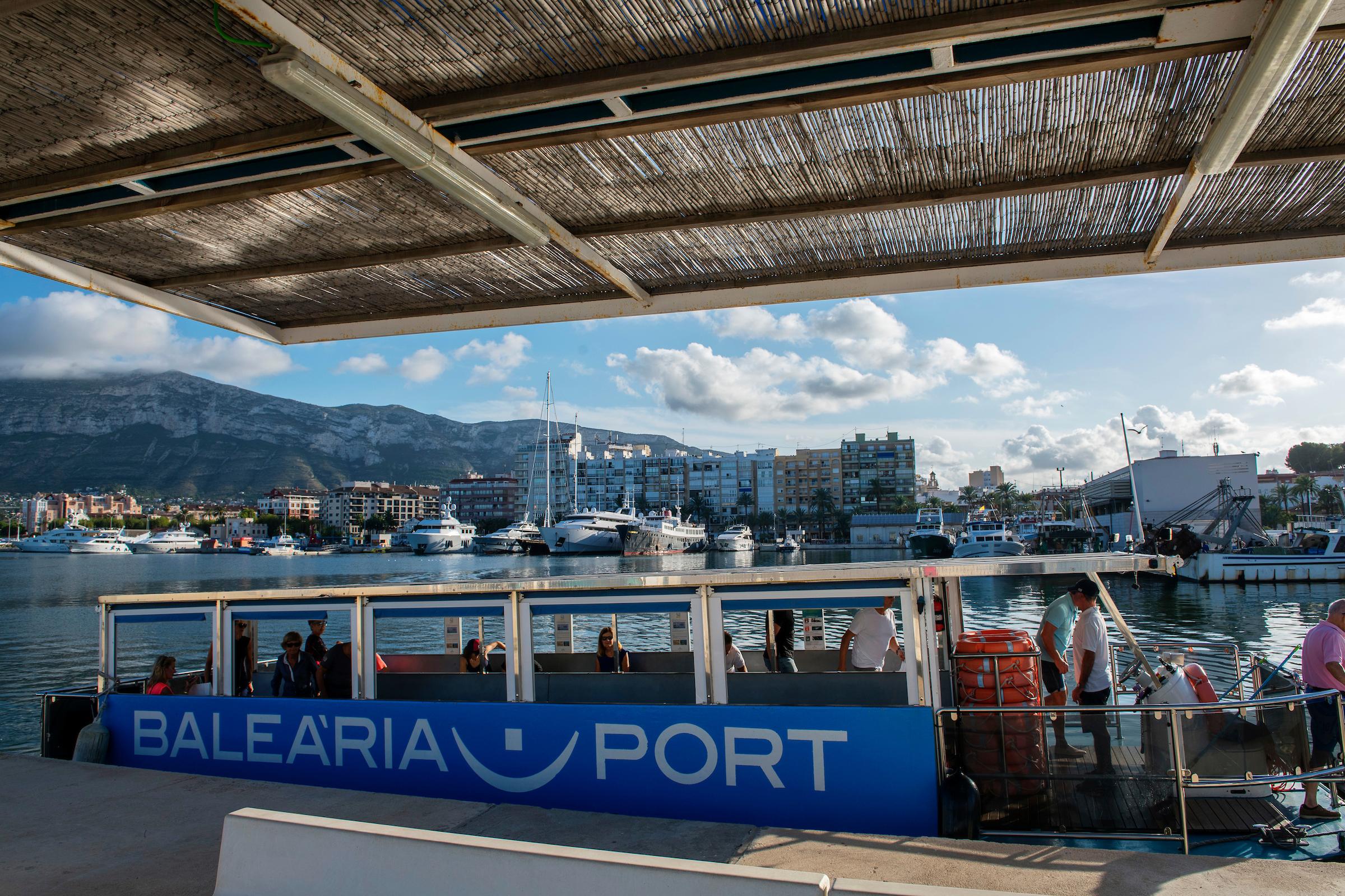 El vaixell solar 'La Panseta' de Baleària va transportar en 2018 a 270.300 passatgers
