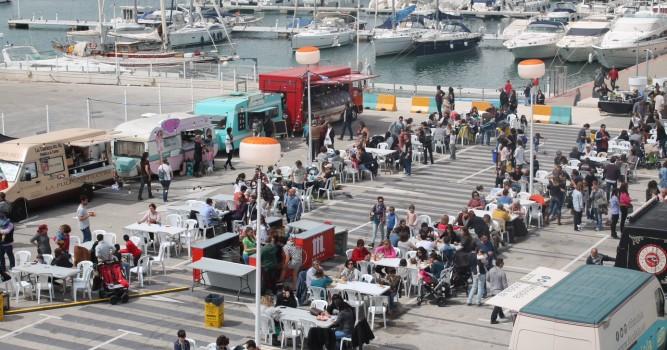 Baleària Port acogerá la feria 'Reto Food Trucks' que combina música y gastronomía