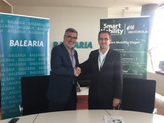 (Español) Iberdrola y Baleària promueven el uso del vehículo eléctrico